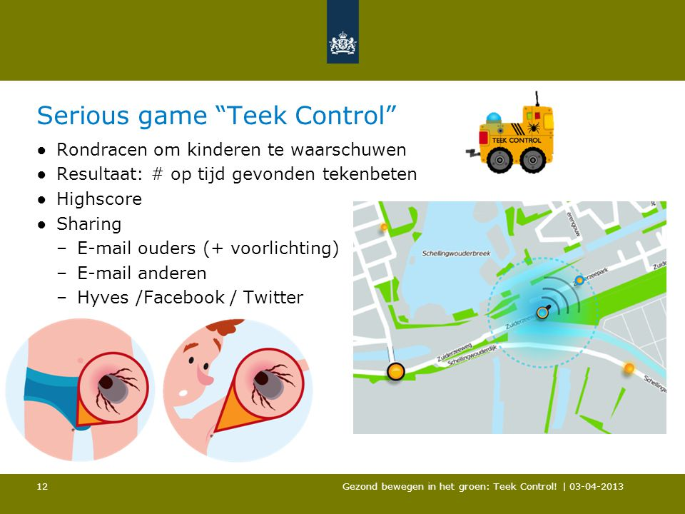 Serious game Teek Control