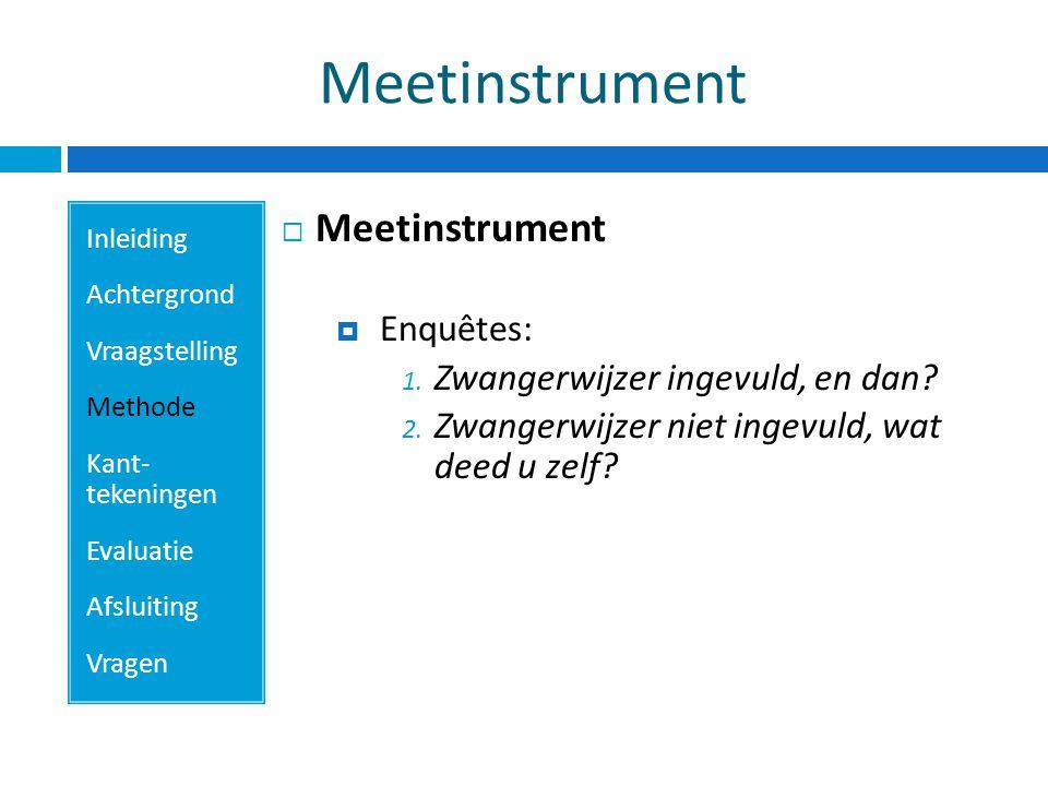 Meetinstrument Meetinstrument Enquêtes: