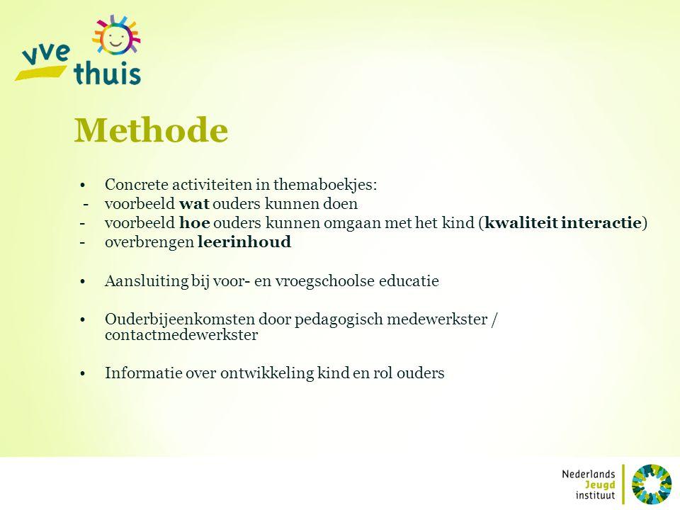 Methode Concrete activiteiten in themaboekjes: