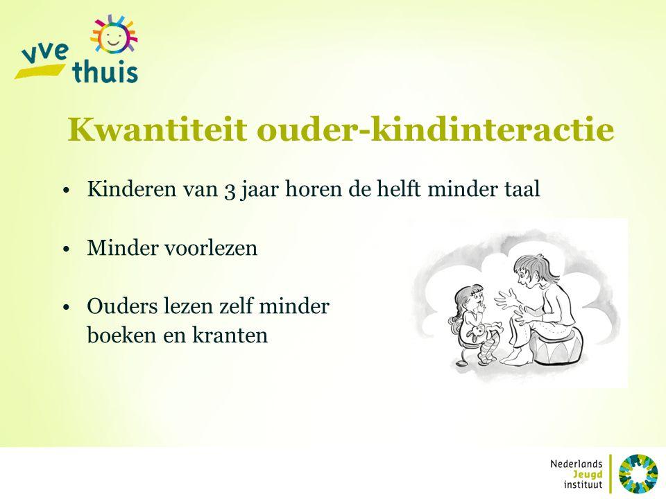 Kwantiteit ouder-kindinteractie