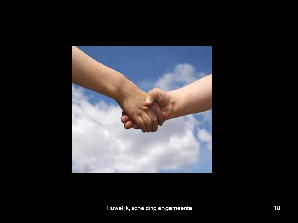 Huwelijk, scheiding en gemeente