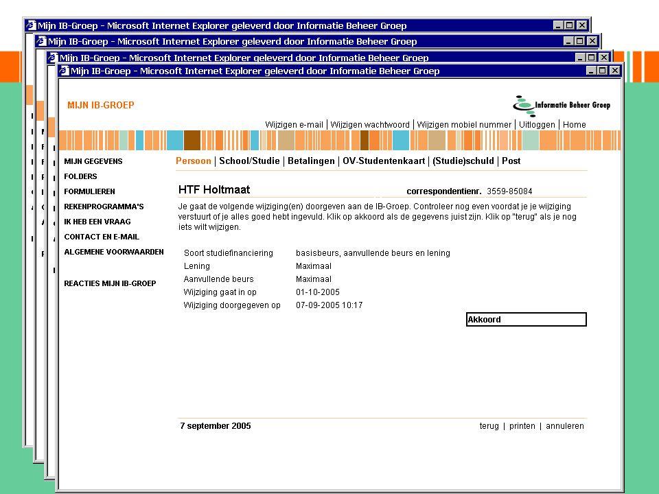muteren on-line opgeleverd juni 2004 achter beveiliging mijn ib-groep
