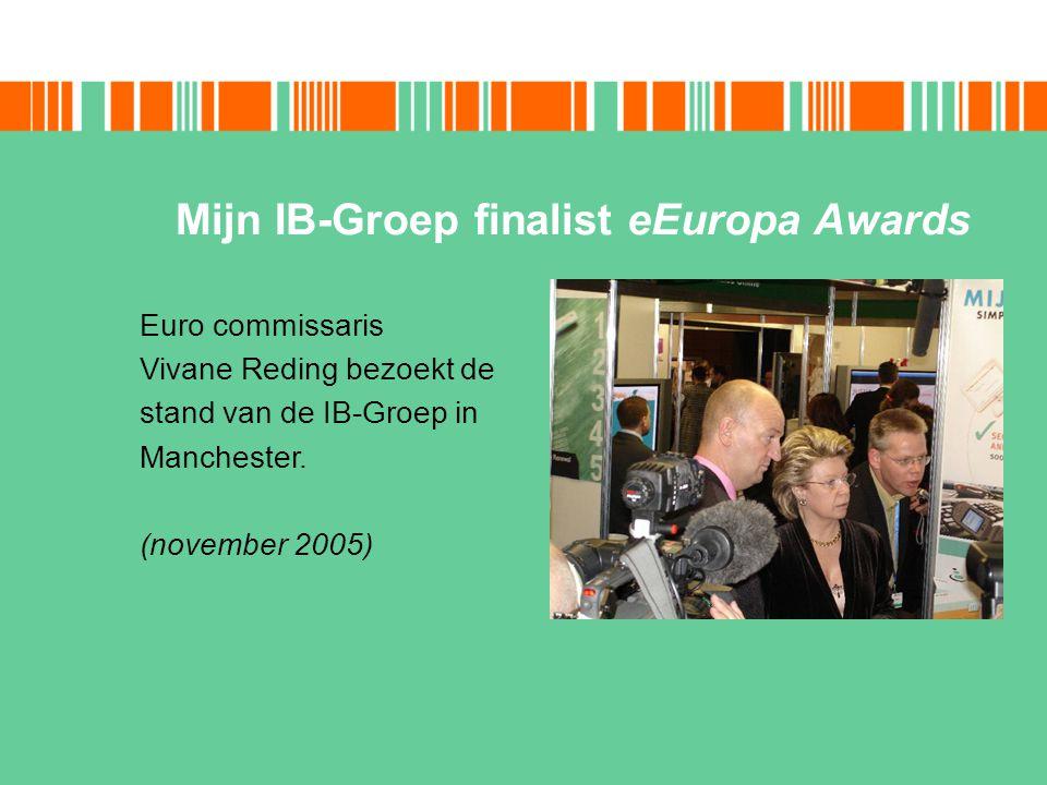 Mijn IB-Groep finalist eEuropa Awards