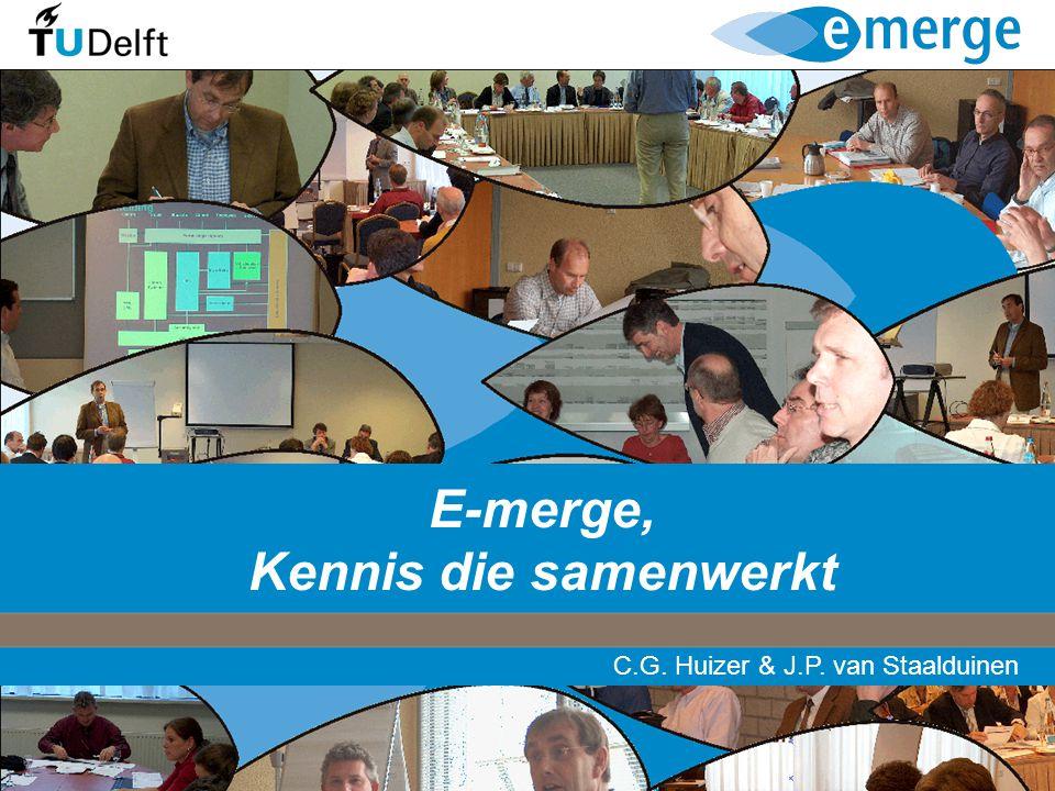 E-merge, Kennis die samenwerkt