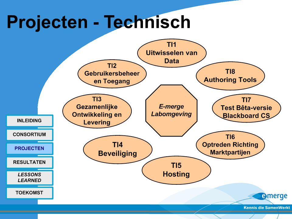 Projecten - Technisch