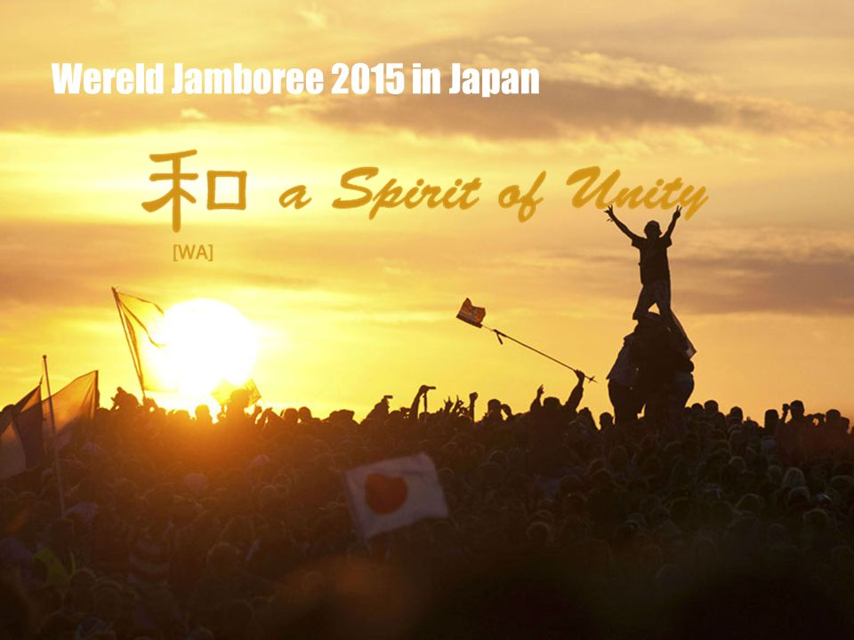 Wereld Jamboree 2015 in Japan