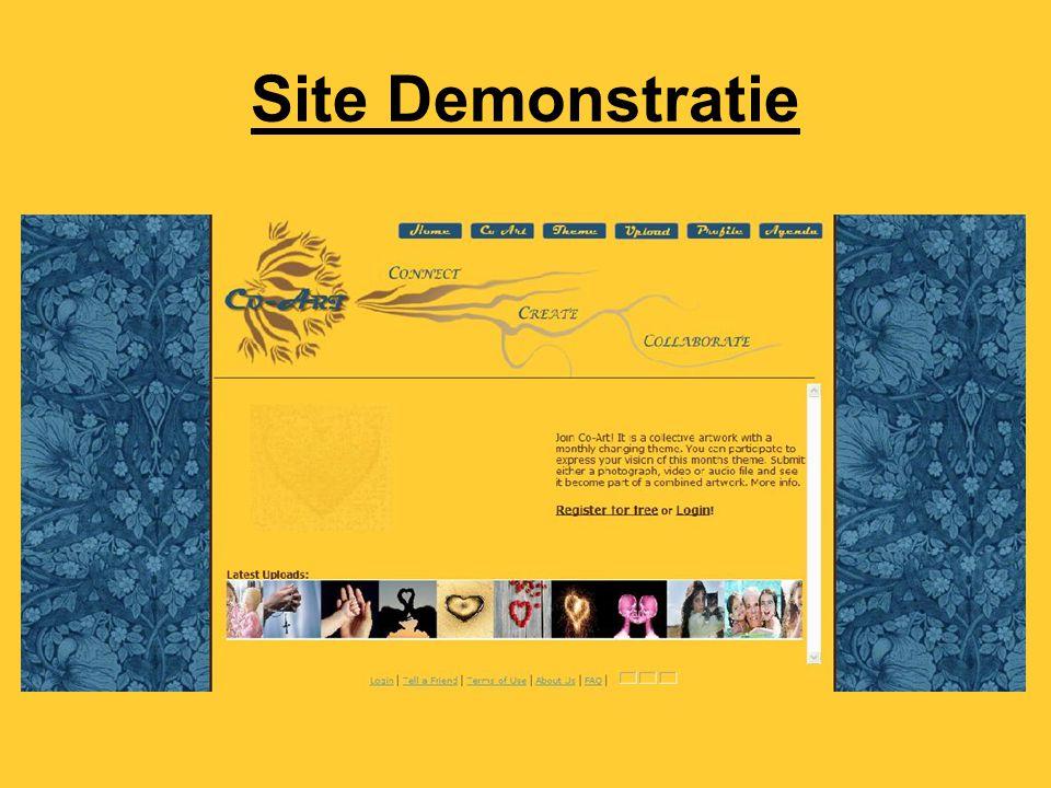 Site Demonstratie