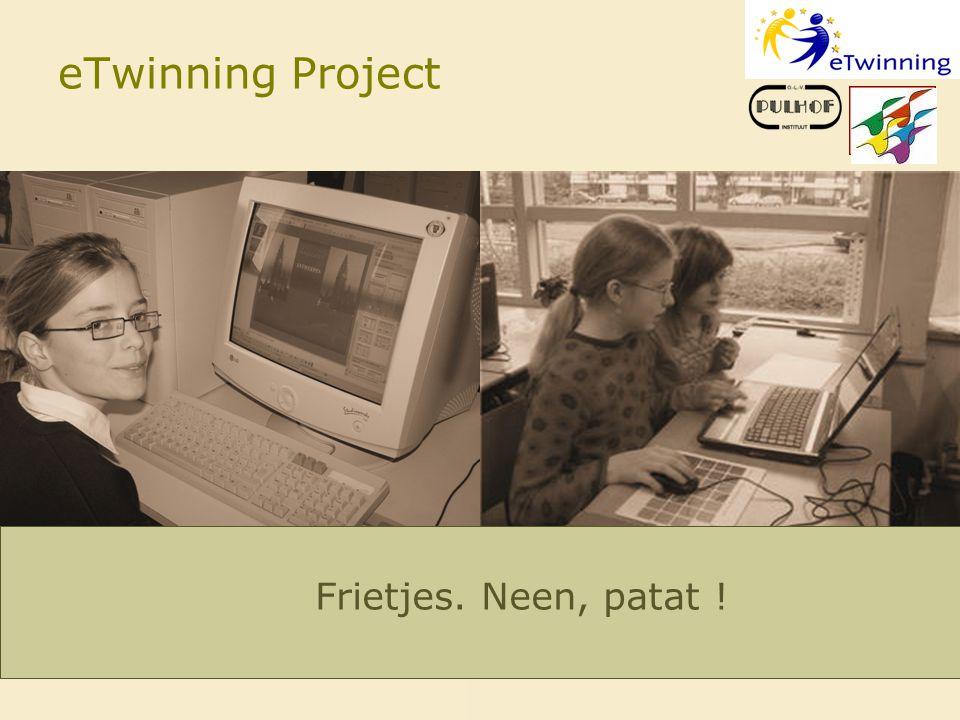 eTwinning Project Logo WDZ Frietjes. Neen, patat !