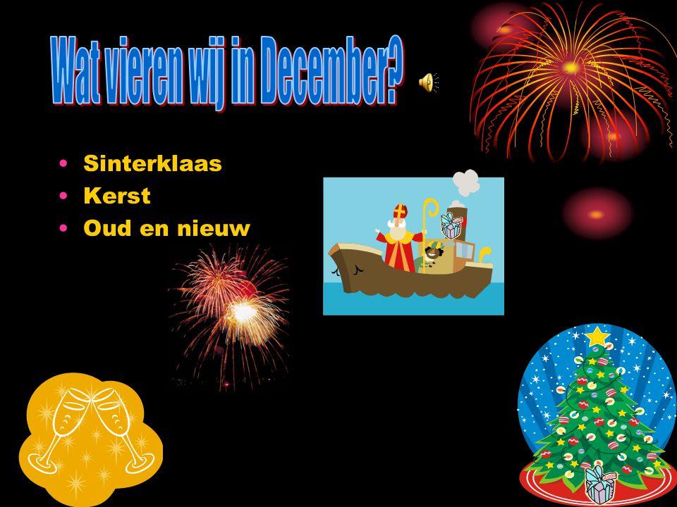 Wat vieren wij in December