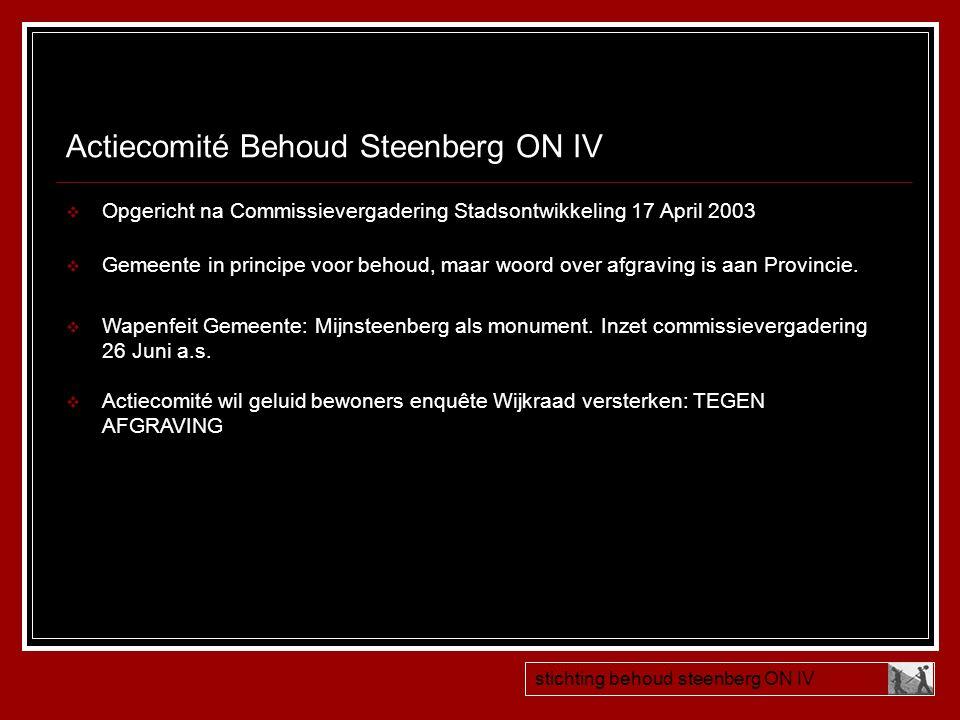 Actiecomité Behoud Steenberg ON IV