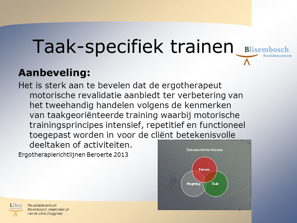 Taak-specifiek trainen