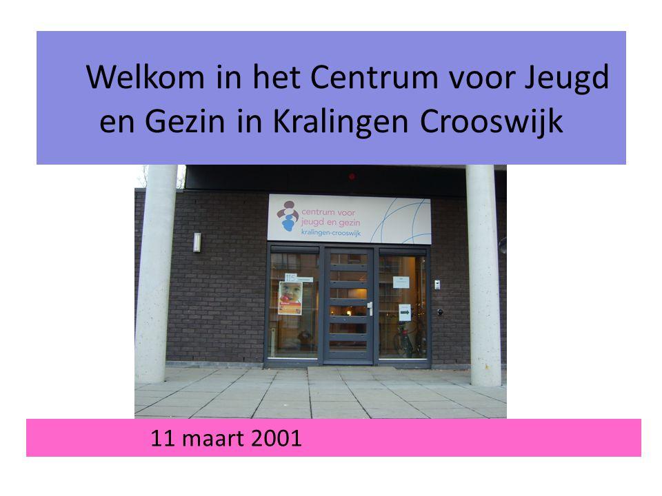 Welkom in het Centrum voor Jeugd en Gezin in Kralingen Crooswijk