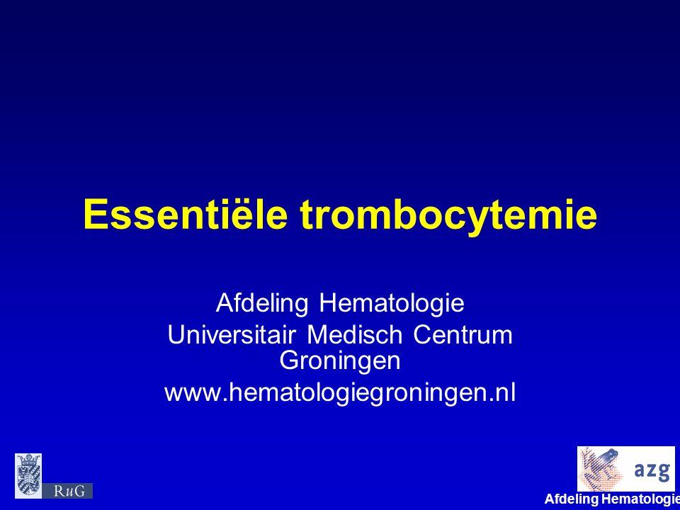Essentiële trombocytemie