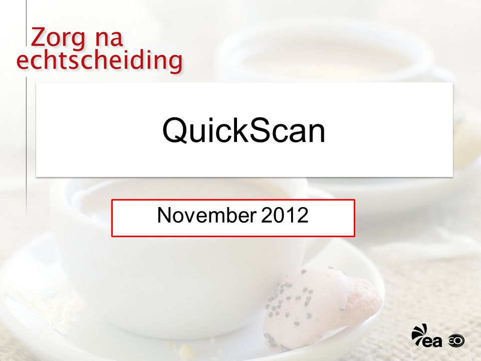 QuickScan November 2012