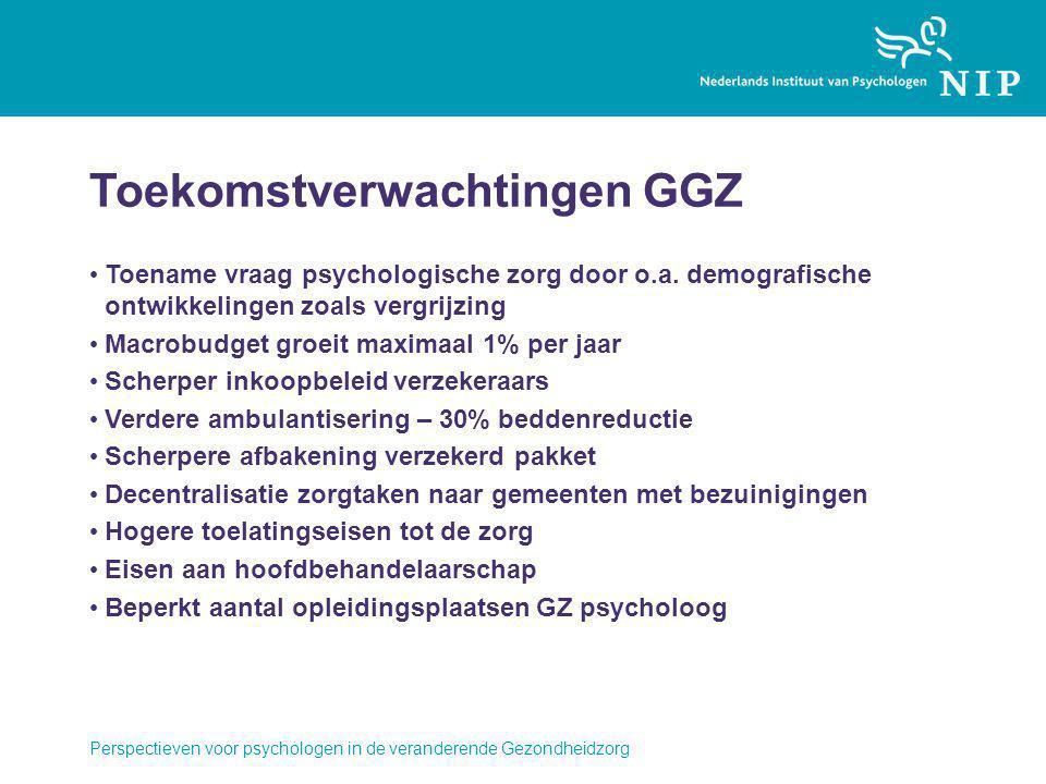 Toekomstverwachtingen GGZ