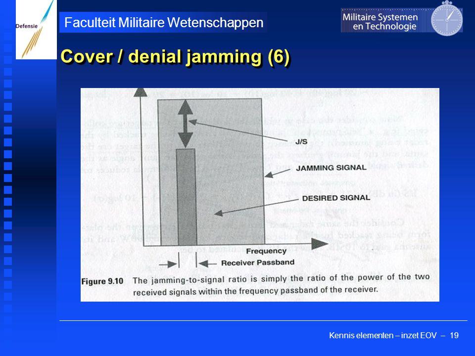 Cover / denial jamming (6)
