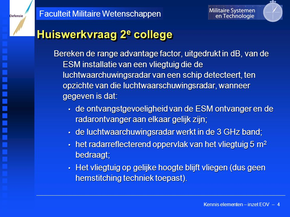 Huiswerkvraag 2e college