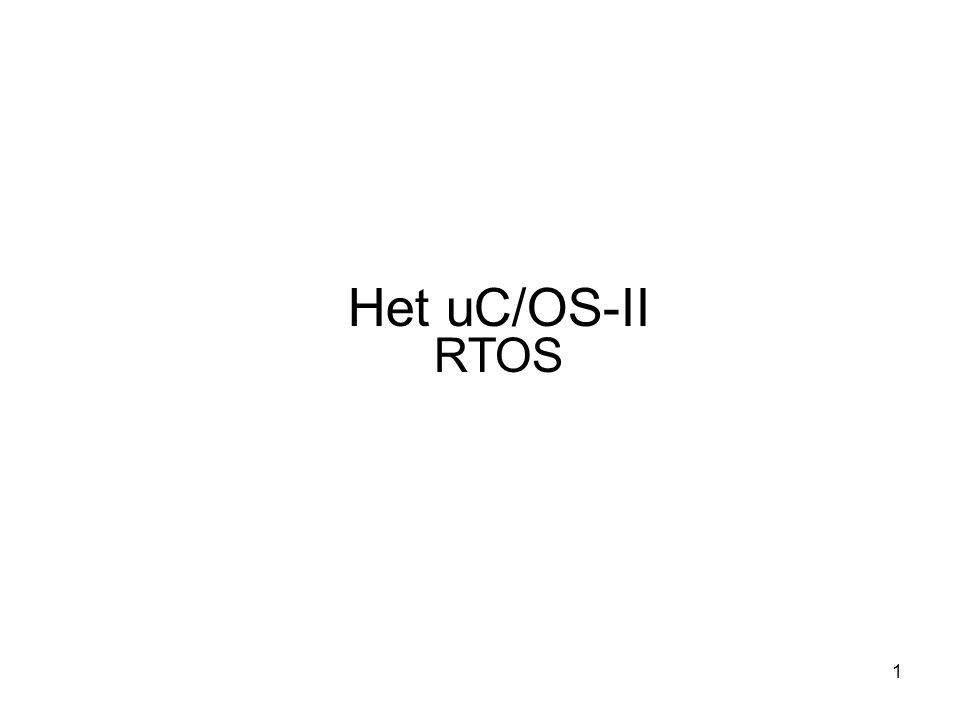 Het uC/OS-II RTOS