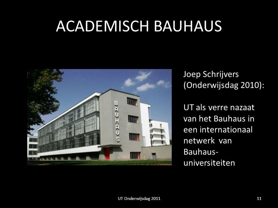 ACADEMISCH BAUHAUS Joep Schrijvers (Onderwijsdag 2010):