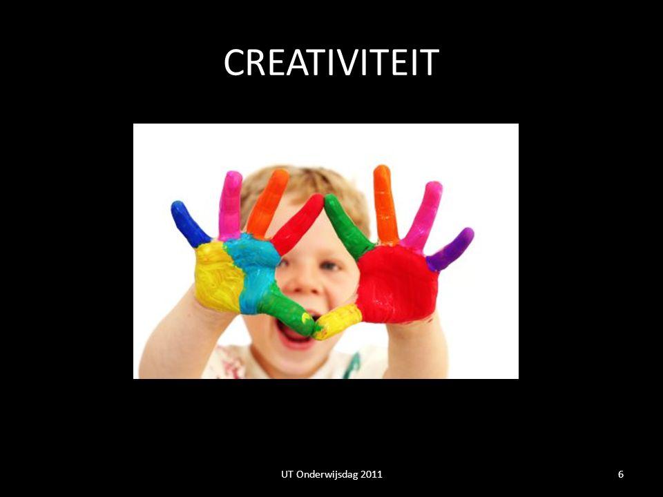 CREATIVITEIT UT Onderwijsdag 2011