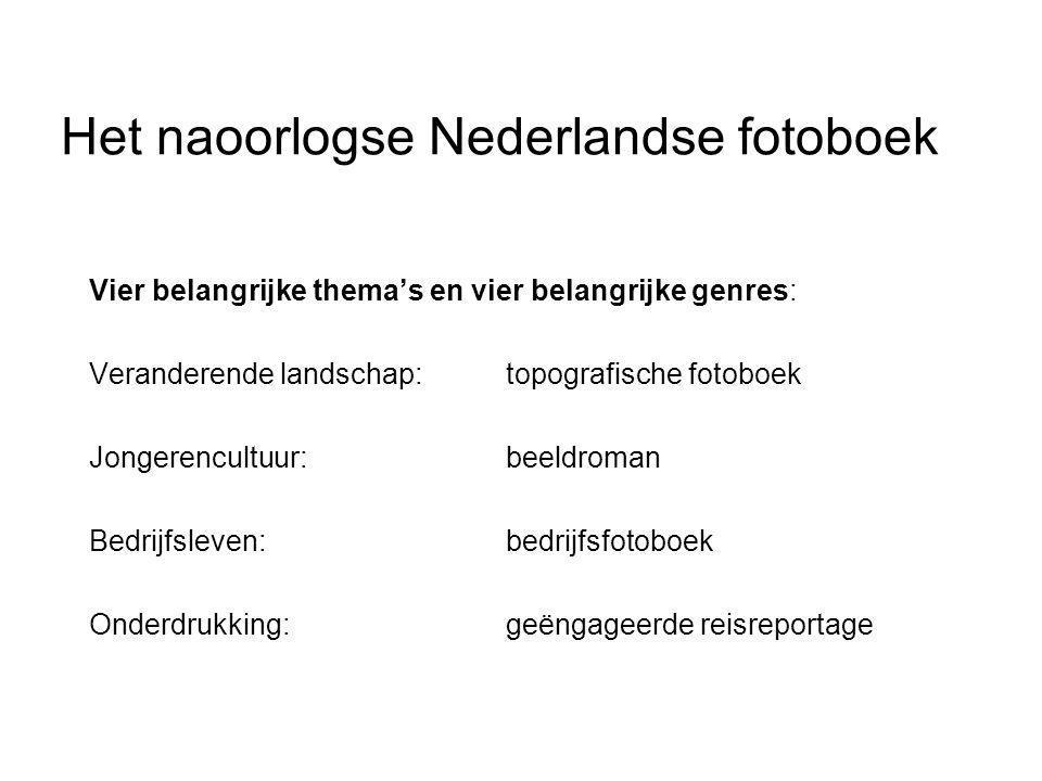 Het naoorlogse Nederlandse fotoboek