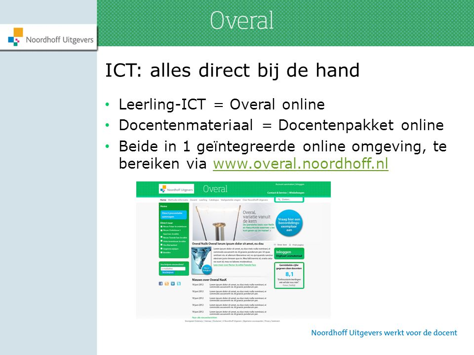 ICT: alles direct bij de hand
