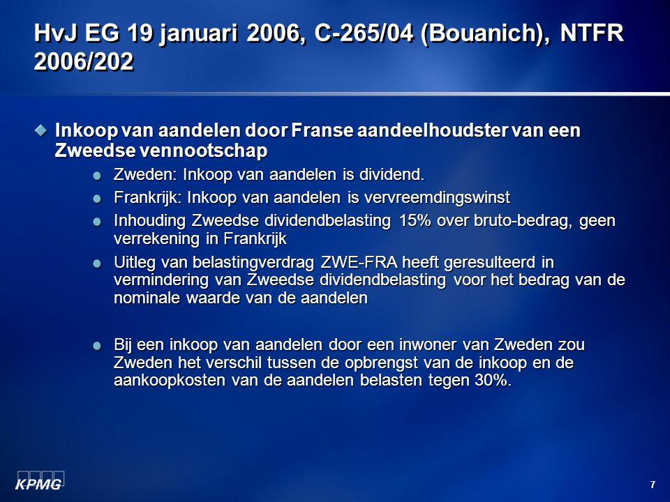 HvJ EG 19 januari 2006, C-265/04 (Bouanich), NTFR 2006/202