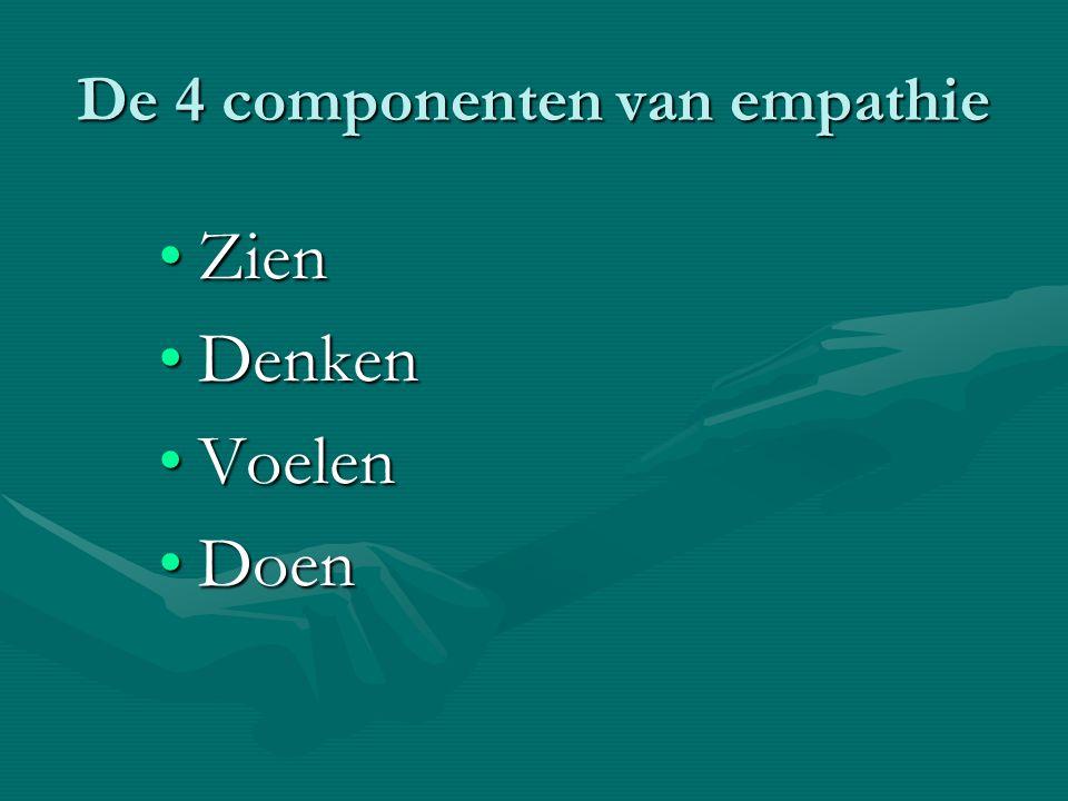 De 4 componenten van empathie