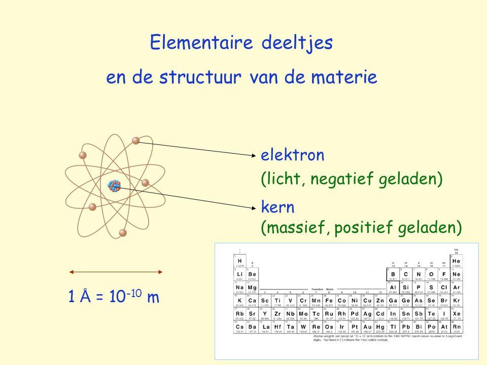 en de structuur van de materie