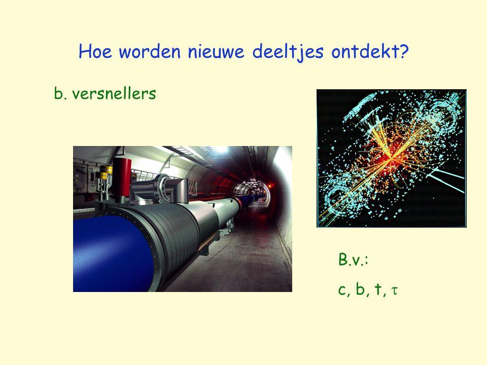 Hoe worden nieuwe deeltjes ontdekt