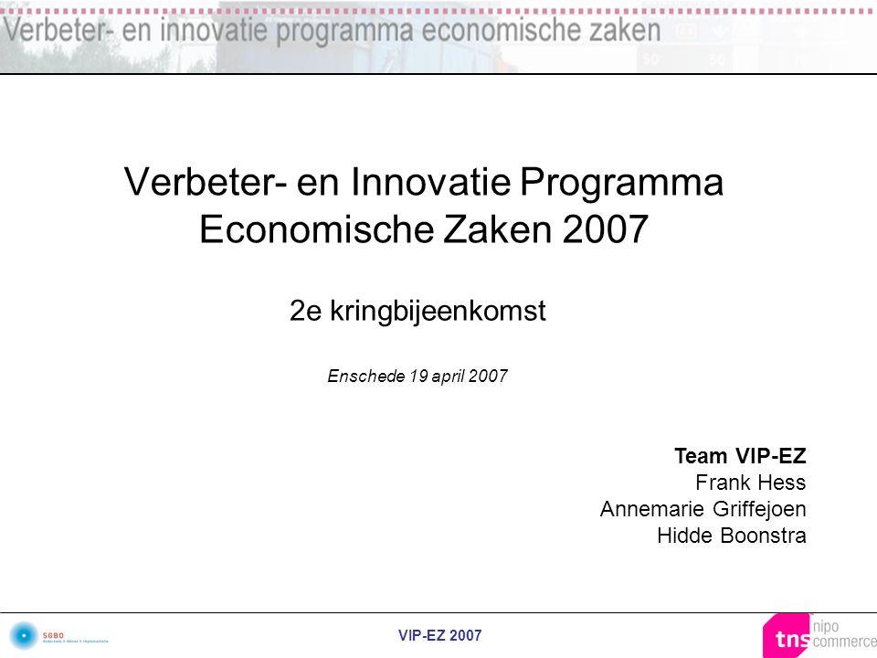 Verbeter- en Innovatie Programma Economische Zaken 2007