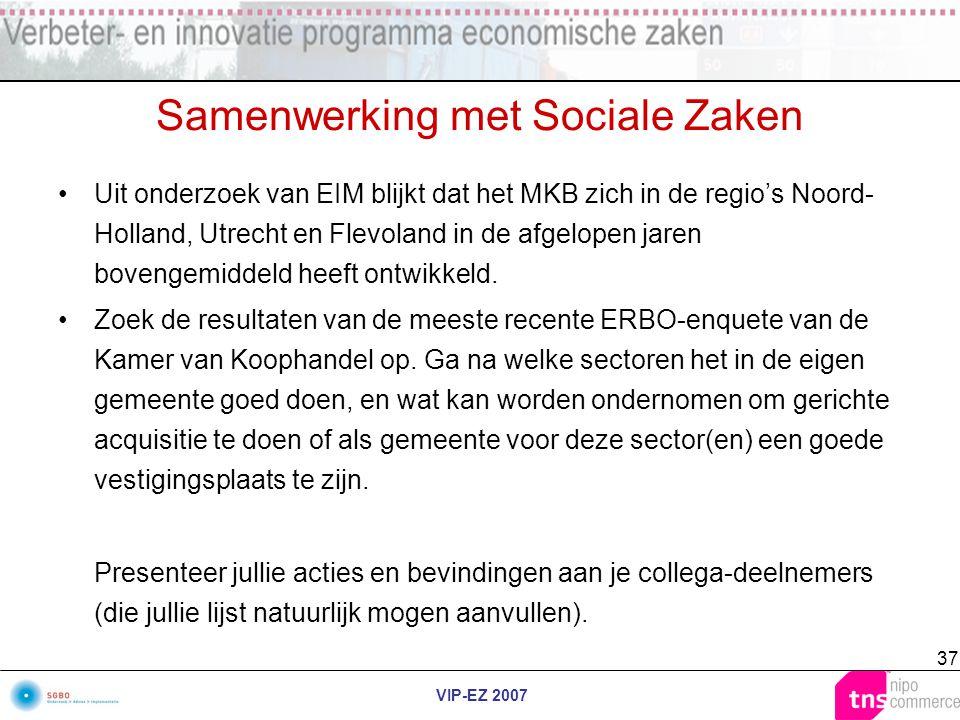 Samenwerking met Sociale Zaken