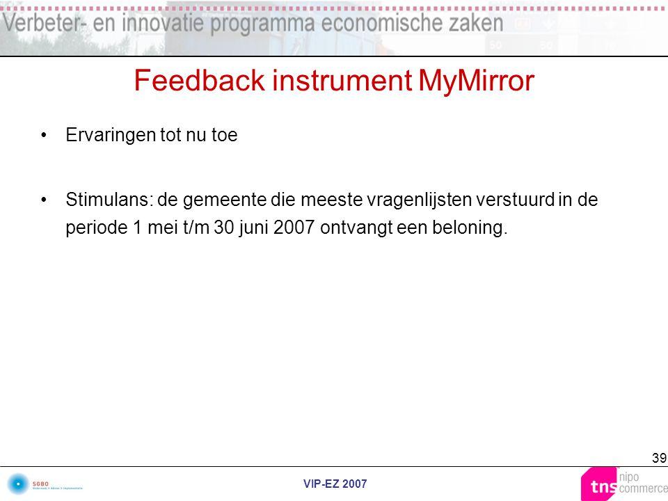 Feedback instrument MyMirror