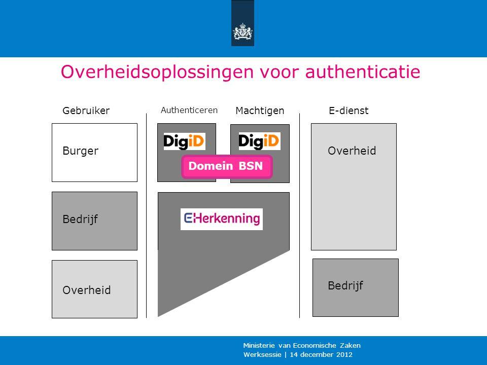 Overheidsoplossingen voor authenticatie