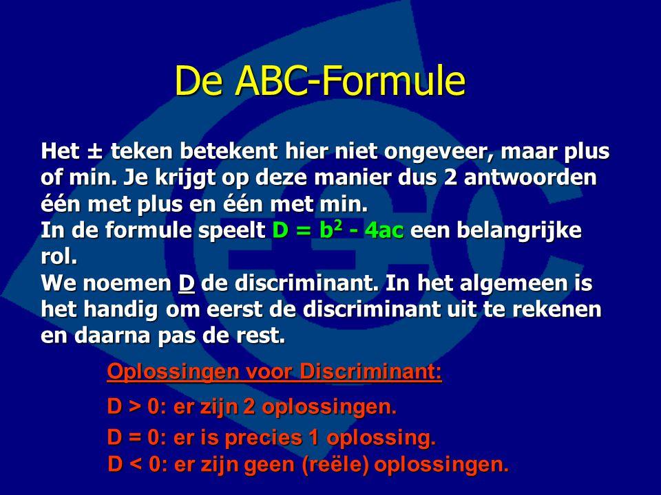 De ABC-Formule