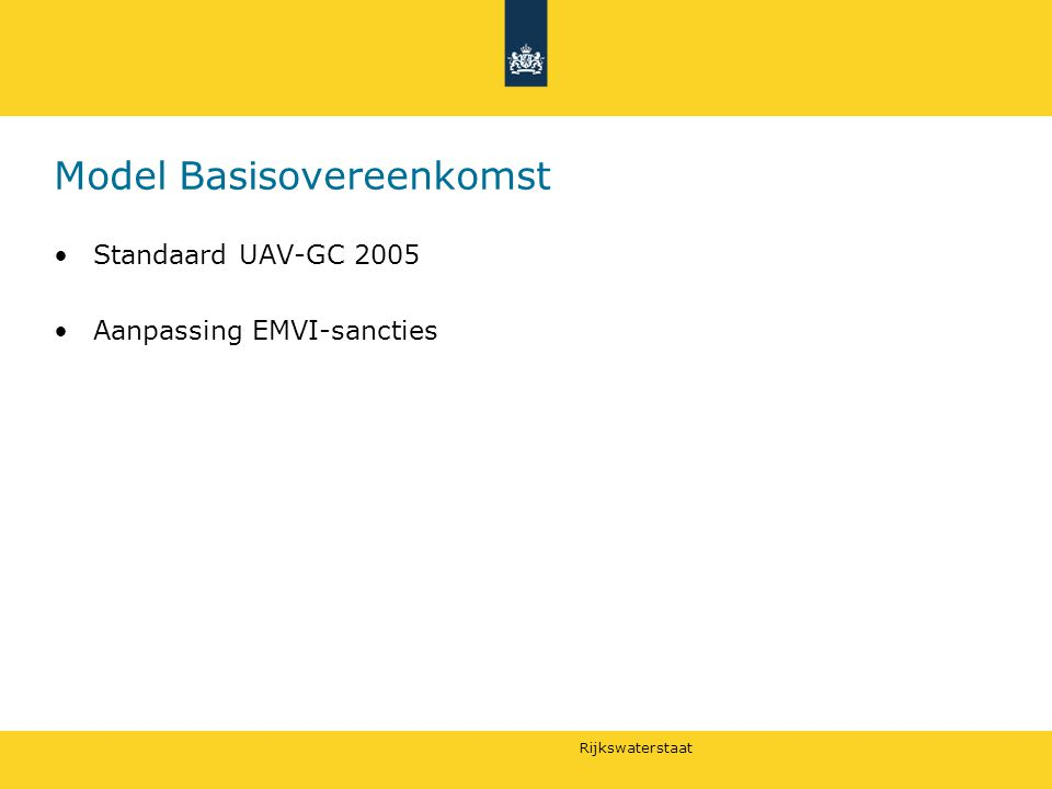 Model Basisovereenkomst