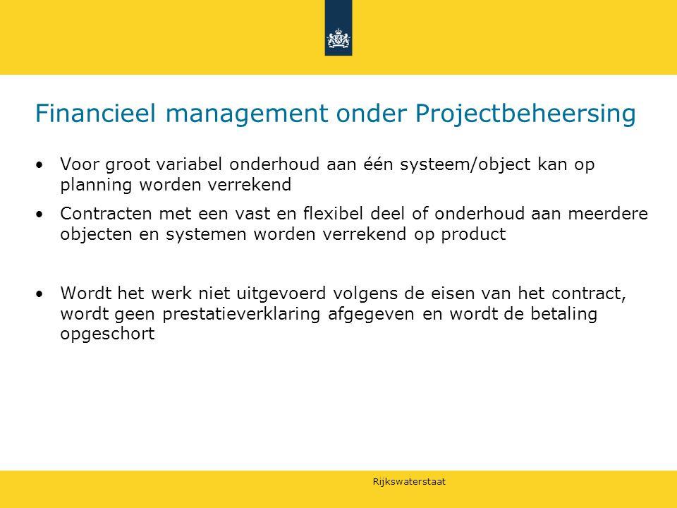 Financieel management onder Projectbeheersing