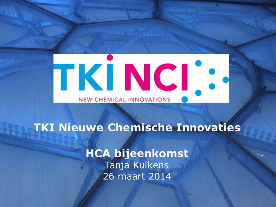 TKI Nieuwe Chemische Innovaties