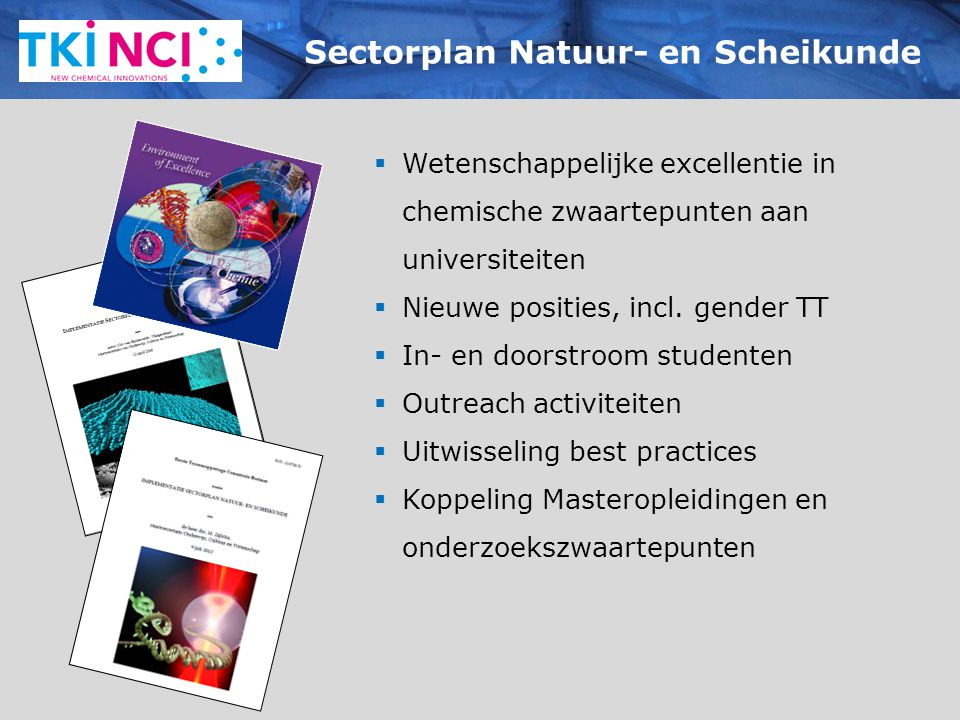 Sectorplan Natuur- en Scheikunde
