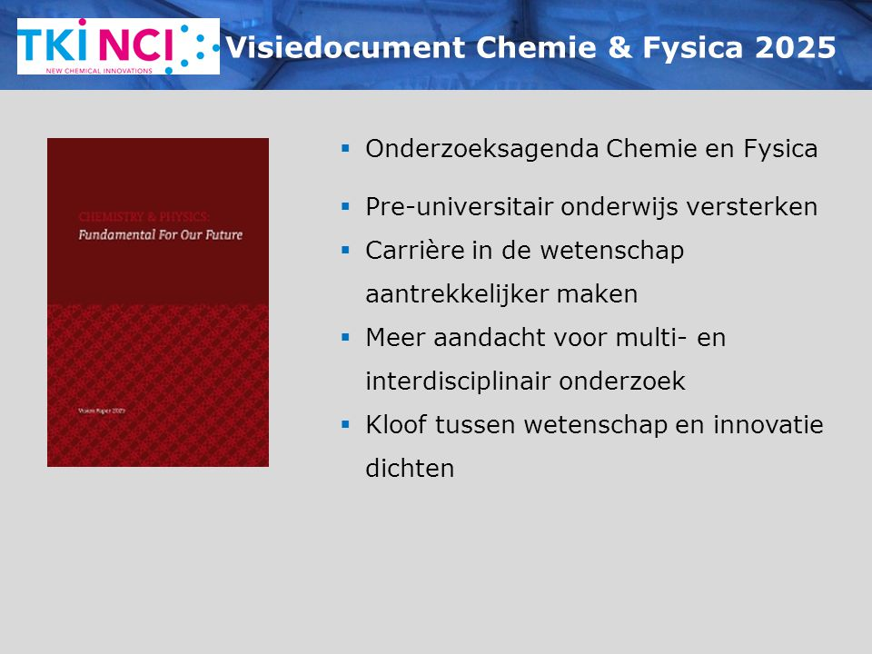 Visiedocument Chemie & Fysica 2025