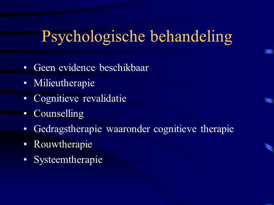 Psychologische behandeling