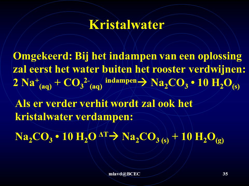 Kristalwater