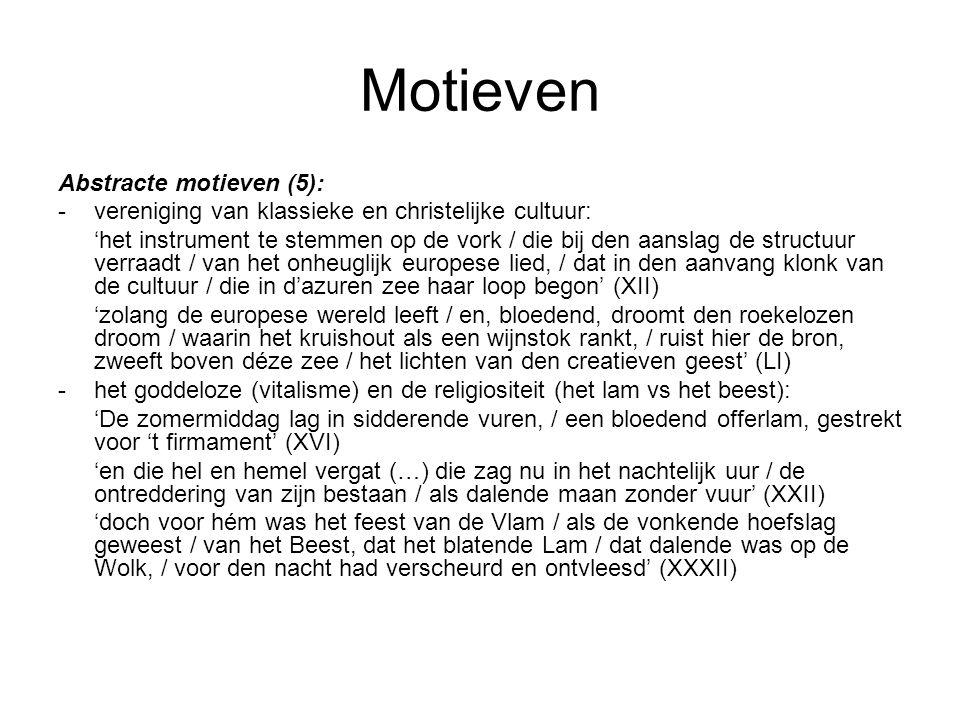 Motieven Abstracte motieven (5):