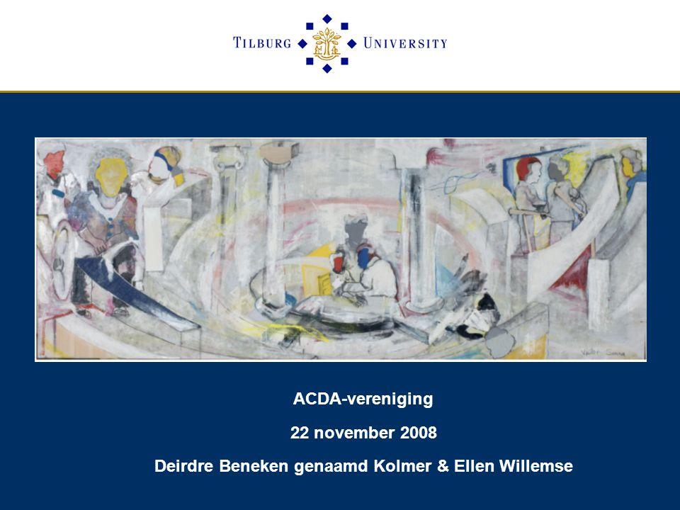 Deirdre Beneken genaamd Kolmer & Ellen Willemse