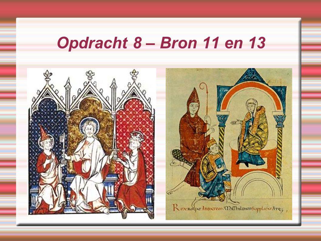 Opdracht 8 – Bron 11 en 13