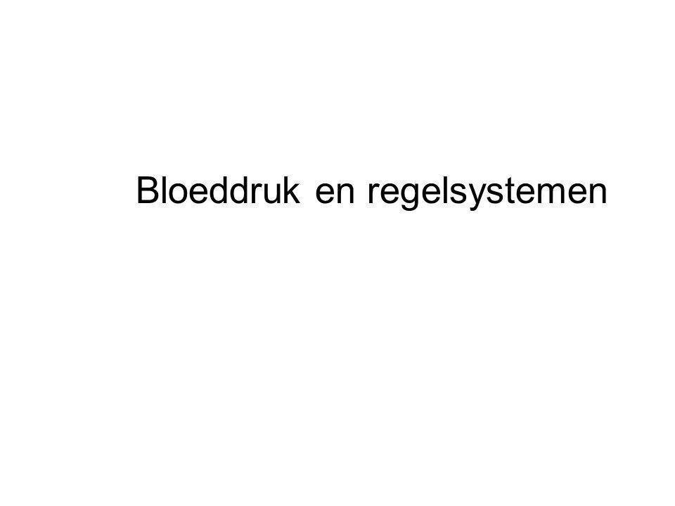 Bloeddruk en regelsystemen