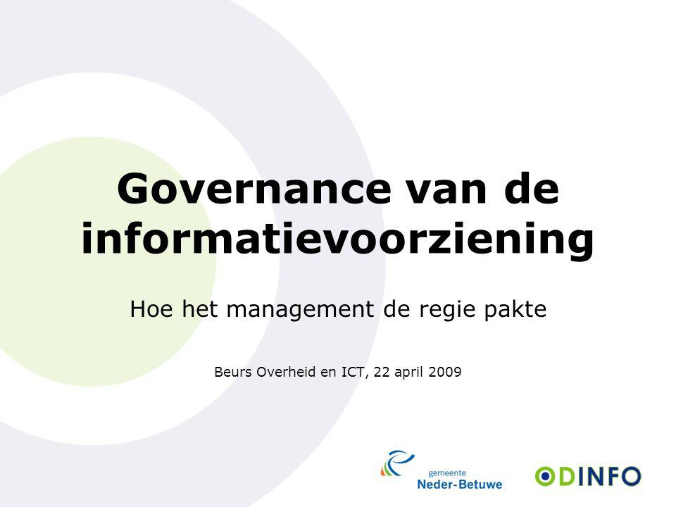 Governance van de informatievoorziening