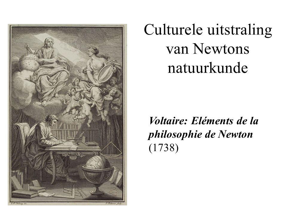 Culturele uitstraling van Newtons natuurkunde