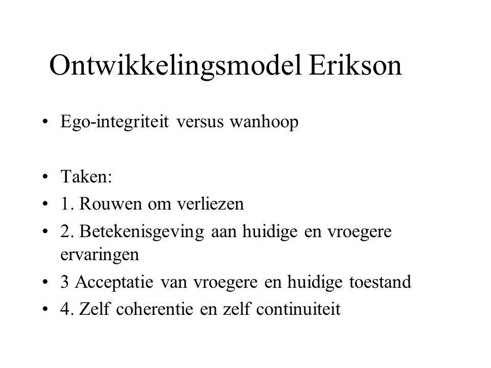 Ontwikkelingsmodel Erikson
