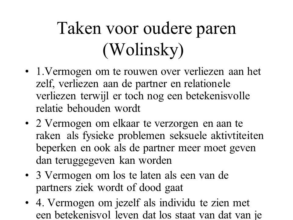 Taken voor oudere paren (Wolinsky)